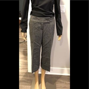 Caslon wool blend cropped pant